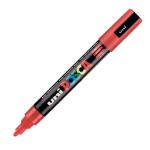 Uni Posca PC-5M Marker Medium Red PK1