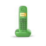 Gigaset A170 Teléfono DECT Verde Identificador de llamadas