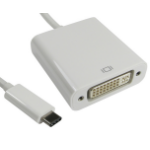 FDL 0.15M USB TYPE C TO DVI ADAPTOR CABLE (M-F)