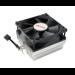 Akasa AK-CC1107EP01 computer cooling component Processor Heatsink 8 cm Black,Silver