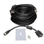Tripp Lite P501-050 VGA Coax Monitor Easy Pull Extension Cable, High Resolution Cable with RGB Coax (HD15 M/F), 50 ft. (15.24 m)