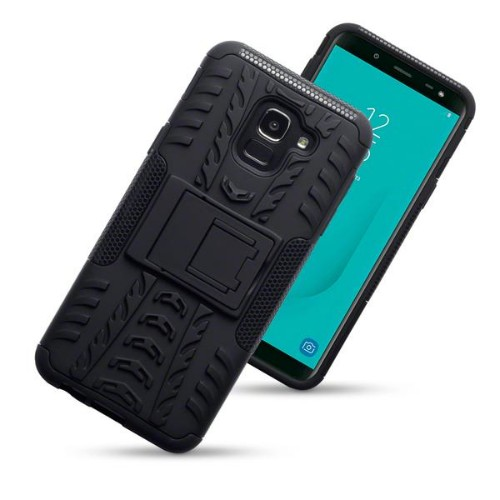 "Activ8 131-002-082_QB mobile phone case 14.2 cm (5.6"") Skin case Black"