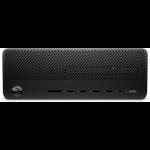 HP 290 G2 9th gen Intel® Core™ i3 i3-9100 8 GB DDR4-SDRAM 256 GB SSD SFF Black PC Windows 10 Pro
