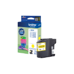 Brother LC-221Y Ink cartridge yellow, 260 pages, 4ml