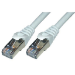 MCL 3m Cat6 F/UTP cable de red F/UTP (FTP) Gris