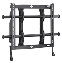 Chief FUSION Micro-Adjustable Fixed Wall Mount Black