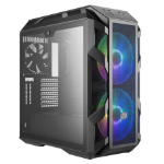 Cooler Master MasterCase H500M Midi-Tower Grey computer case