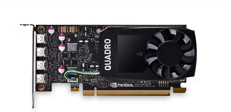 HP Tarjeta gráfica NVIDIA Quadro P1000 de 4 GB