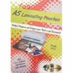 PHE GOLD SOVEREIGN S157216100LAMINATING POUCHES A5 GLOSS CLEAR 100 MICRON PACK 100