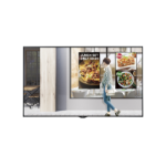 "LG 49XS4F-B signage display 124.5 cm (49"") LED Full HD Interactive flat panel Black"