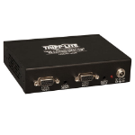 Tripp Lite 4-Port VGA with Audio over Cat5 / Cat6 Extender Splitter, Box-Style Transmitter with EDID, 1920 x 1440 at 60Hz, Up to 305 m (1,000-ft.)
