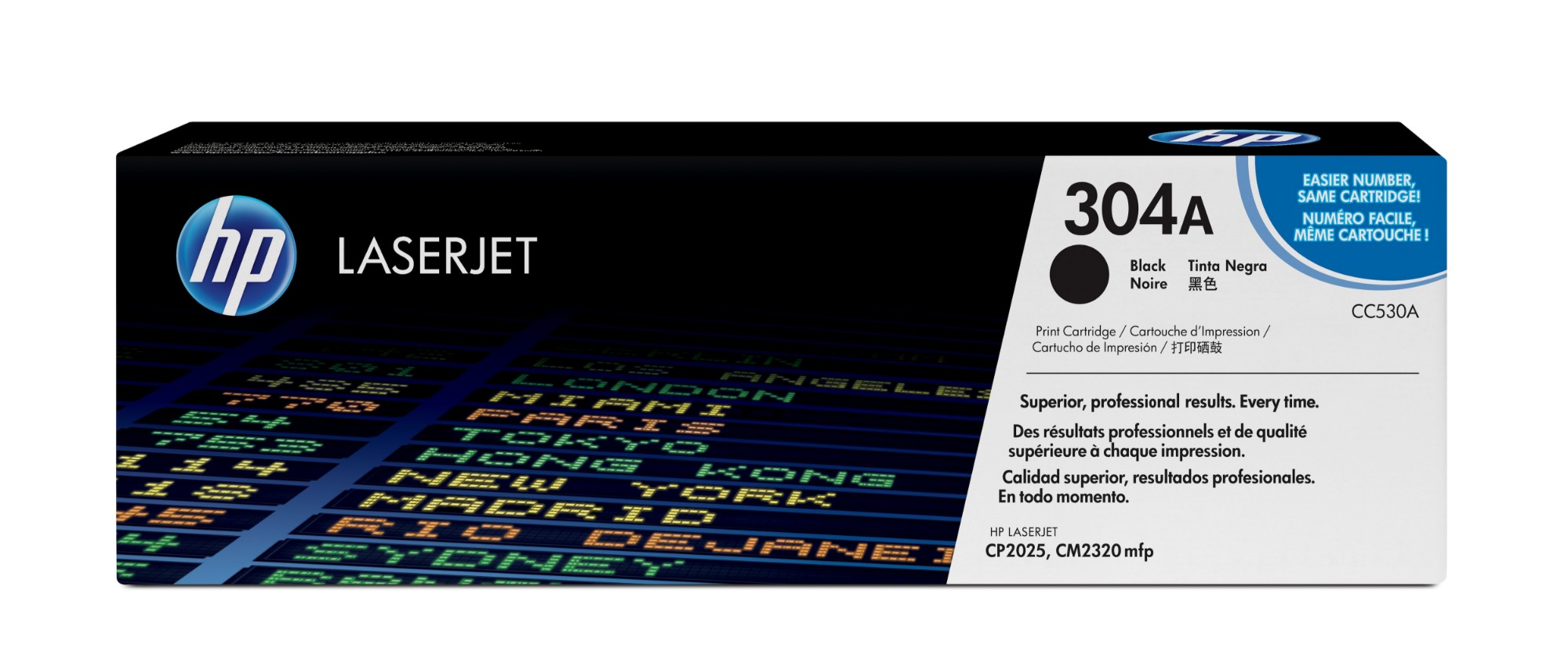 HP 304A Original Negro 1 pieza(s)