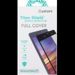eSTUFF Samsung Galaxy S7 Full Black Samsung Galaxy S7 Clear screen protector 1pc(s)