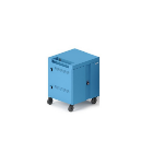 Bretford TVC32 Portable device management cart Cyan