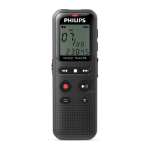 Philips DVT1150 Internal memory Black dictaphone