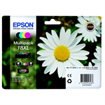 Epson C13T18164010 (18XL) Ink cartridge multi pack, 470pg + 3x450pg, 1x 12ml + 3x 7ml, Pack qty 4