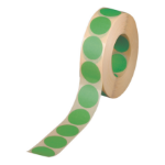 Avery Labels on Roll 19mm Green 24-507
