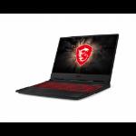 "MSI Gaming GL65 9SD-246UK Black Notebook 39.6 cm (15.6"") 1920 x 1080 pixels 9th gen Intel® Core™ i7 16 GB DDR4-SDRAM 1256 GB HDD+SSD Windows 10 Home"