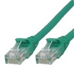 Microconnect UTP cat6 1m 1m Green networking cable