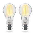 Innr Lighting BF 265-2 smart lighting Smart bulb White ZigBee 6.3 W