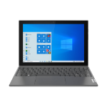 """Lenovo IdeaPad Duet 3i DDR4-SDRAM Hybrid (2-in-1) 26.2 cm (10.3"""") 1920 x 1200 pixels Touchscreen Intel® Pentium® Silver 8 GB 128 GB eMMC Wi-Fi 5 (802.11ac) Windows 10 Pro Grey"""