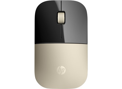 HP Z3700 mice RF Wireless Blue LED 1200 DPI Ambidextrous Gold