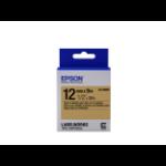 Epson LK-4KBM Label Etikette Schwarz auf gold
