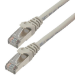 MCL 3m Cat6a S/FTP cable de red S/FTP (S-STP) Gris