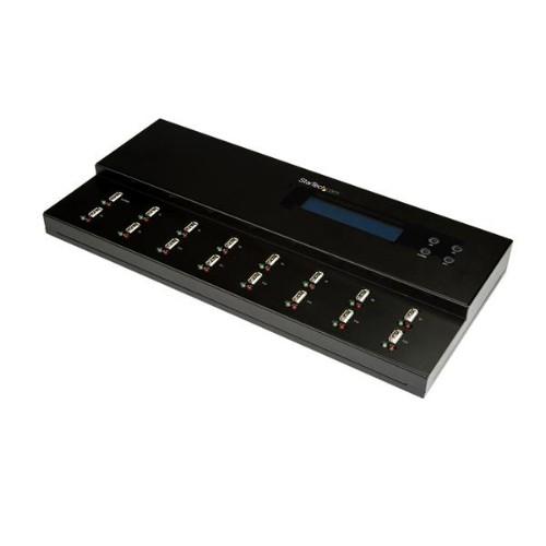 StarTech.com 1:15 Standalone USB Duplicator and Eraser - for USB Flash Drives