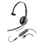 Plantronics C315-M 3.5 mm Monaural Head-band Black headset