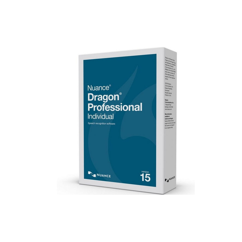 Nuance Dragon Professional Individual 15 1 licencia(s) Descarga electrónica de software (ESD, Electronic Software Download) Inglés