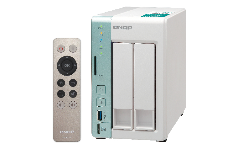 QNAP TS-251A NAS Tower Ethernet LAN Green,White