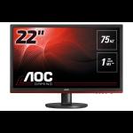 """AOC G2260VWQ6 LED display 54.6 cm (21.5"""") 1920 x 1080 pixels Full HD Black"""