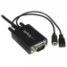 StarTech.com DisplayPort to VGA adapter cable with audio - 6ft (2m) DP2VGAAMM2M
