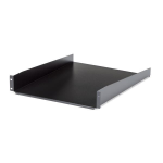 StarTech.com 2U 22in Depth Fixed Rack Mount Shelf - 50lbs / 22kg