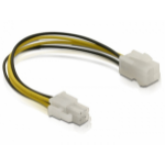 DeLOCK Power cable P4 male/female 0.15 m