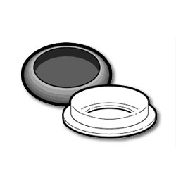 Replacement Ear Cushion Ring Set For Duoset H141/h141n/chs142n