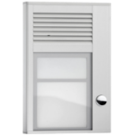 Interquartz ID201 Silver door intercom system