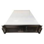 TGC Rack Mountable Server Chassis 3U 650mm Depth. 8x Int 3.5' Bays, 2x Int 2.5' Bays, 2x Ext 5.25' Bays.