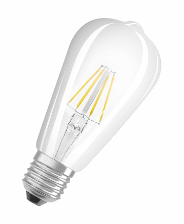 Osram Retrofit Classic ST 6W E27 A++ Warm white LED bulb