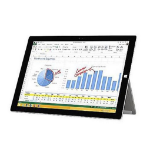 Microsoft Surface 3 128GB 3G 4G Silver tablet
