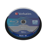 Verbatim BD-R SL 25GB 6 x 10 Pack Spindle BD-R 25GB 10pc(s)ZZZZZ], 43742