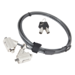 "Urban Factory CRS02UF cable lock Black 78.7"" (2 m)"