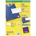 Avery J8651-25 printer label White