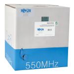 Tripp Lite Cat6 Gigabit Bulk Solid PVC Cable - Blue, 1000-ft. networking cable