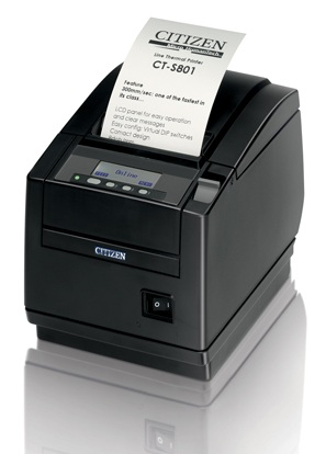 Citizen CT-S801 Direct thermisch POS-printer 203 x 203 DPI Bedraad
