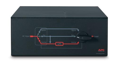 Service Bypass Panel 230v/100a mbb Hardwire Input/output