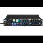 Eaton ESWH84 16AC outlet(s) 2U Black power distribution unit (PDU)