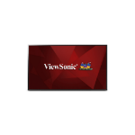 "Viewsonic CDE5502 Digital signage flat panel 55"" LED Full HD Black signage display"