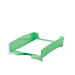 FELLOWES G2DESK LETTER TRAY-GREEN